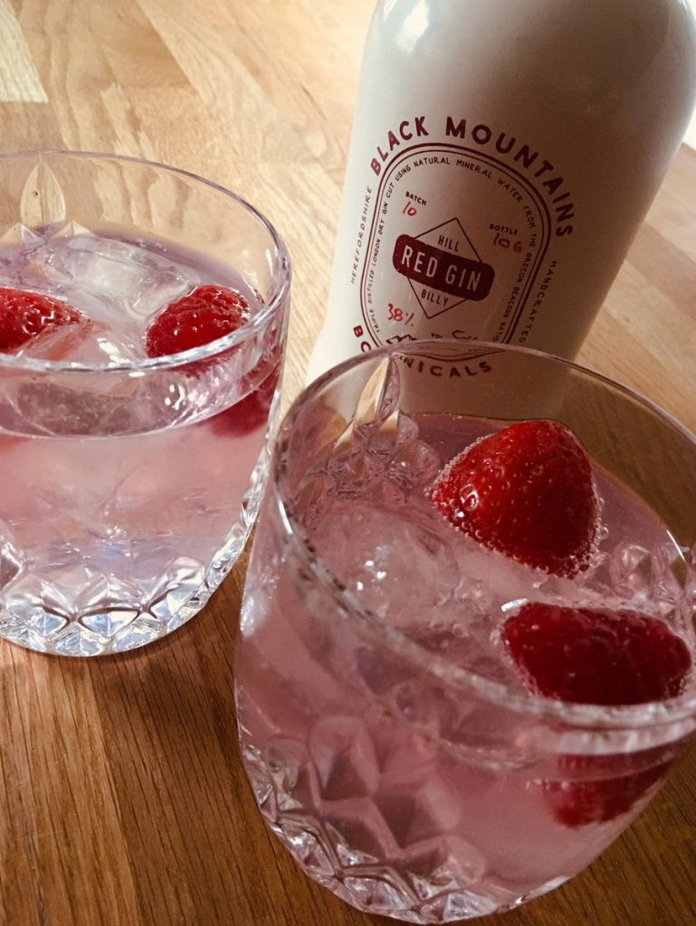 Hereford, Herefordshire, Premium , Gin , Hill Billy Red