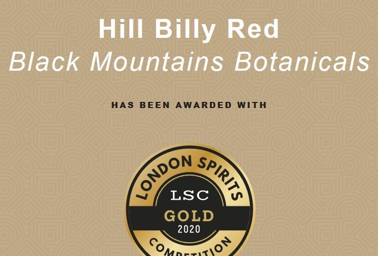 Gold Winning Hill Billy Red Gin,  the perfect serve from the heart of Herefordshire